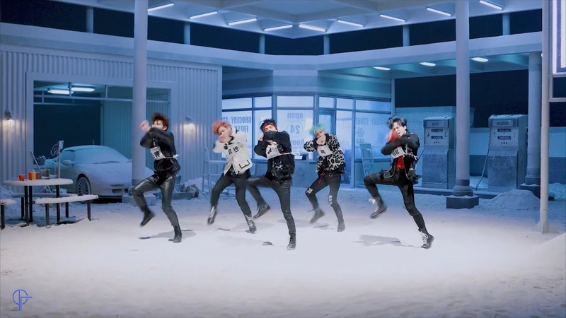 MCND ICE AGE 안무영상 DANCE MIRRORED CLEAN AUDIO