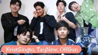 KristSingto, TayNew, OffGun LIVE - I'm Tee Me Too  Casts