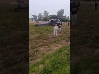Первое летное происшествие с ударным вертолетом AH-64E Apache ВВС Индии