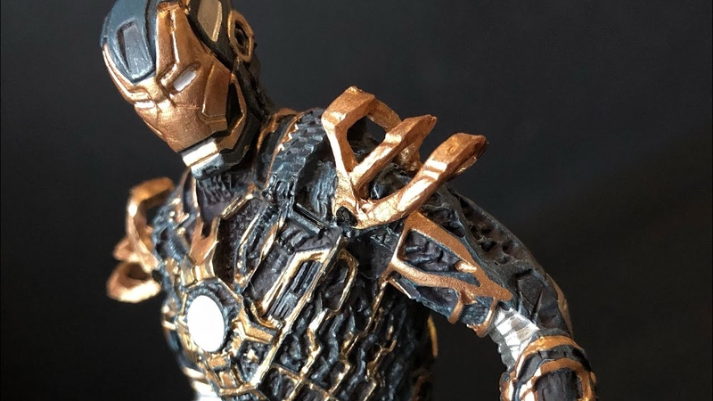 IRONMAN BONES MARK XLI Marvel Movie Collection Eaglemoss Review