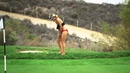 Bikini Golf - It's A Skins Game $$$ (part 3) at TRUMP NATIONAL!