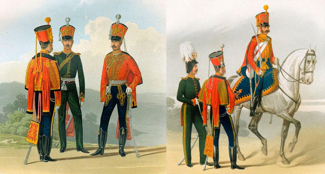 Гвардейские гусары