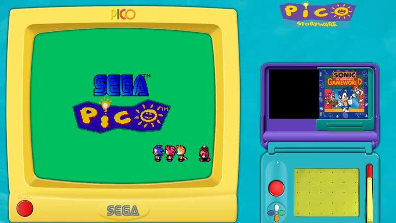 Sega Pico [Fullset 263 games]