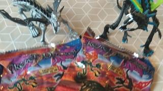 Распаковка и обзор скелетов драконов. #2