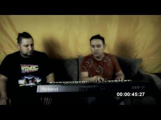Жди меня (Бад Чимидов и Василий Лодянов,живой звук)