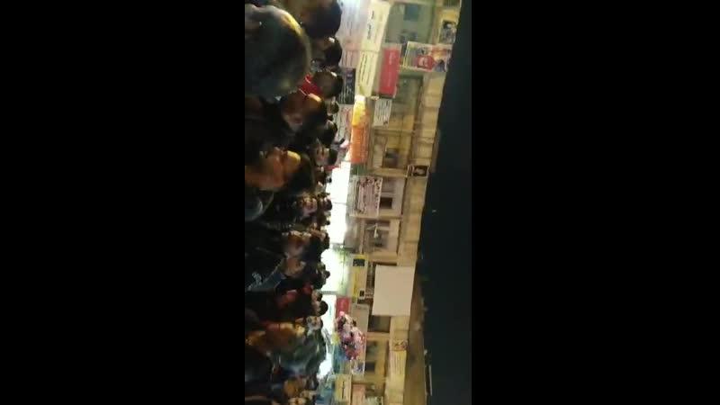 Протесты в городе Насирийя в мухафазе Ди Кар.