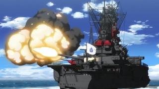 High School Fleet - EP11-12 Final Battle with Musashi (Ship scenes)