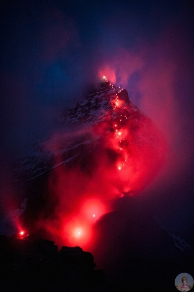 Невероятные фотографии альпинистов