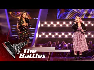 Holly scally vs trinity-leigh cooper keep holding on (the voice uk 2020)