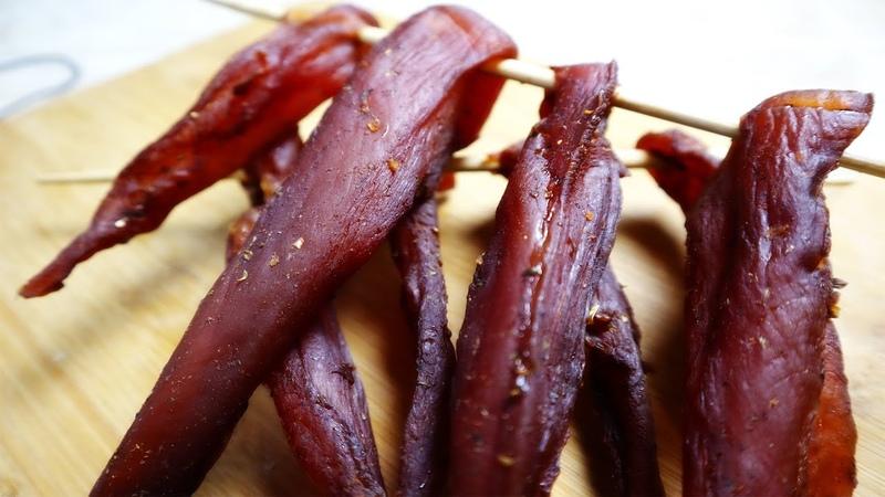 Вяленая курица томатно чесночная с дымком и остринкой Бастурма вяленое мясо в домашних условиях