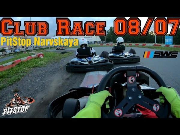 08 07 2020 Sodi World Series Club Race PitStop Narvskaya