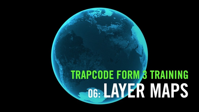 Trapcode Form 3 Training | 06: Layer Maps