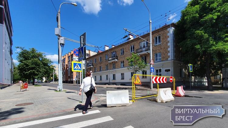 Напоминаем, что закрыт проезд по ул. К.Маркса (в сторону автовокзала)
