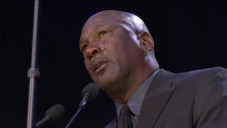 Michael Jordan emotional speech at memorial for Kobe Bryant and Gianna Bryant
