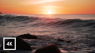 Sunrise Ocean Wave Sounds at Los Cabos, Mexico for Sleep and Study ASMR