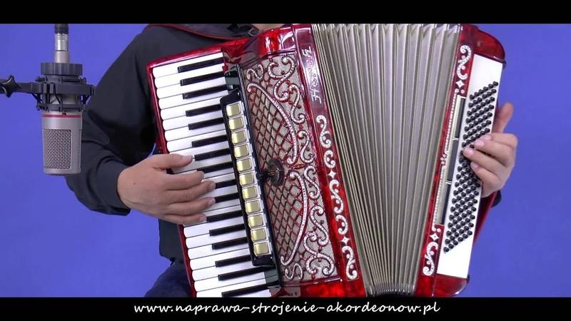 Na wzgórzach Mandżurii akordeon Horch musette po naprawie w serwisie akordeonów Tadeusza Łandy