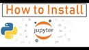 How to Install Jupyter Notebook in Python - Windows 10 - With Example - Code Jana - YouTube