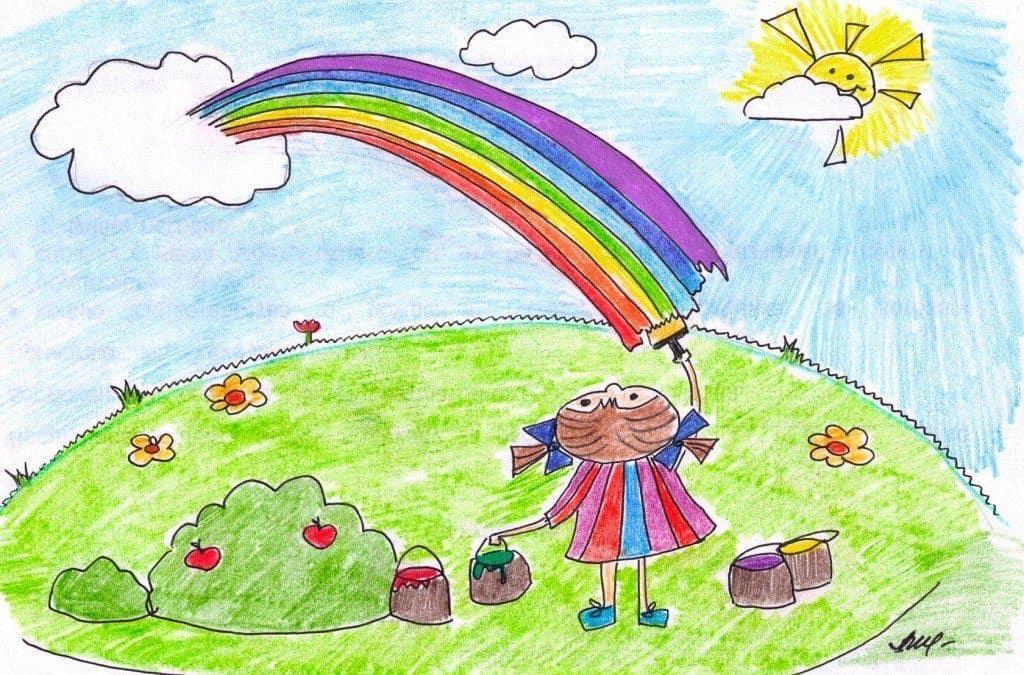 Принимаются работы на областной конкурс детских рисунков о лете