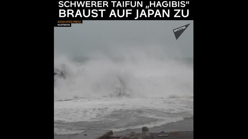 Mega Taifun nimmt Kurs auf Japan Ausläufer fordern Todesopfer