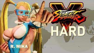 Street Fighter V - R. Mika Arcade Mode (HARD)