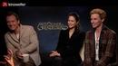 Interview Jude Law, Katherine Waterston Eddie Redmayne FANTASTIC BEASTS: THE CRIMES OF GRINDELWALD
