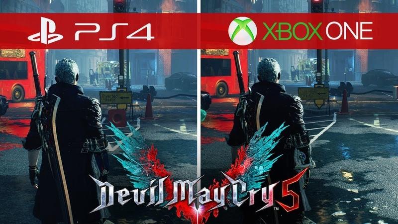 Devil May Cry 5 Comparison - Xbox One vs. Xbox One S vs. Xbox One X vs. PS4 vs. PS4 Pro