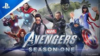 Мстители Marvel | Сюжетный трейлер версии нового поколения | PS5