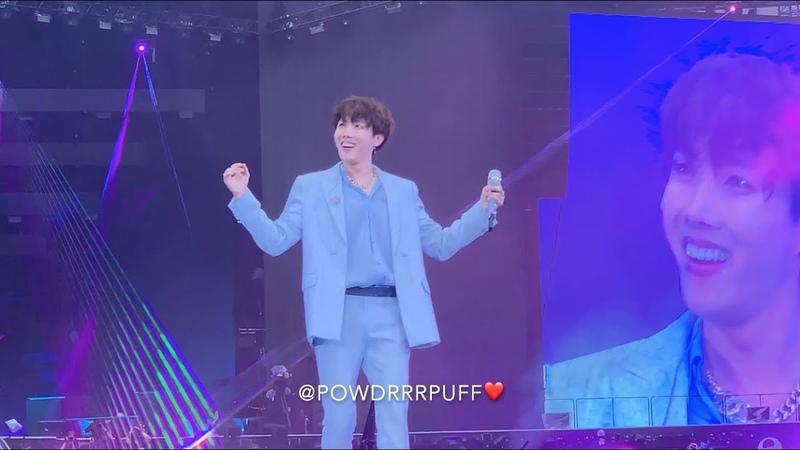 190602 - Trivia 起 Just Dance - BTS 방탄소년단 - Speak Yourself Tour - Wembley Day 2 - HD Fancam 직캠