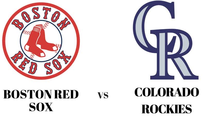 IL 28.08.2019 BOS Red Sox @ COL Rockies 3 3