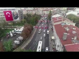 Kadıköy'de 29 Ekim Cumhuriyet Konvoyu 2020