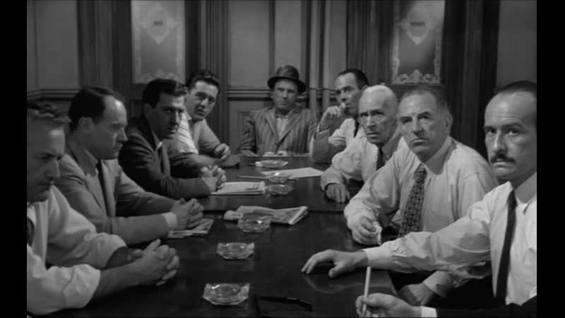 Двенадцать разгневанных мужчин 1956