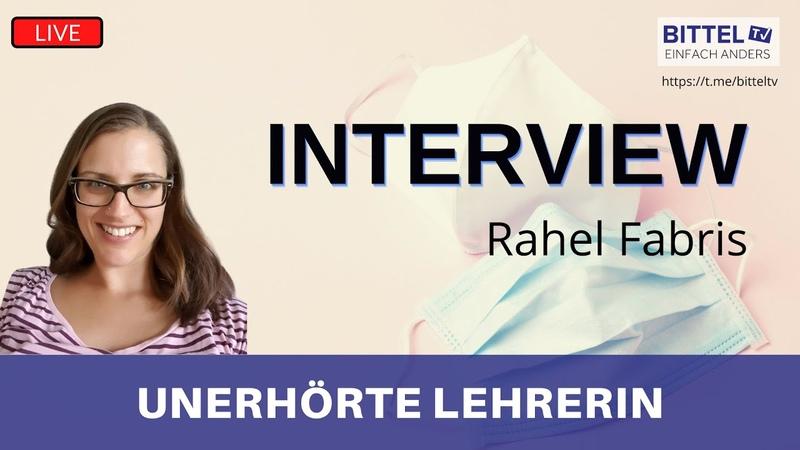 LIVE Unerhörte Lehrerin Interview mit Rahel Fabris