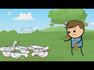 Donovan Duck - Cyanide & Happiness Shorts