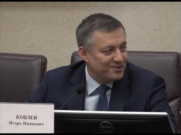 Игорь Кобзев ответил на вопросы горожан о строительстве моста рядом с ГЭС и высадке защитной лесопол