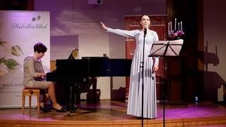 Мария Елизарова - «Уезжаешь,  милый» из к/ф Шербургские зонтики (муз. М. Леграна)