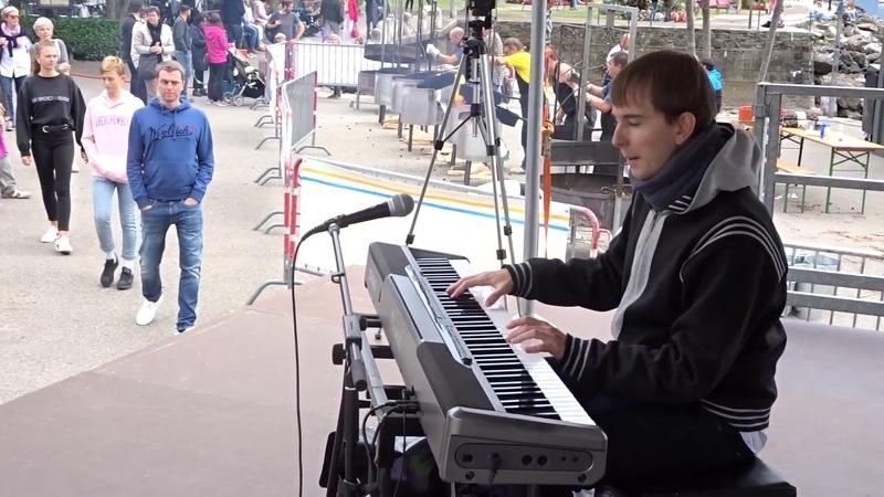 Honky Tonk Train Blues Live Piano Cover by Nicola Tenini Ascona