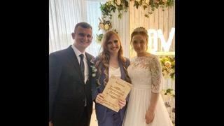 Зажигательная свадьба Дианы и Дмитрия