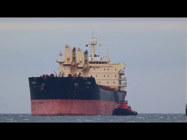 BULK CARRIER TETON PORT KHOLMSK БАЛКЕР TETON ПОРТ ХОЛМСК