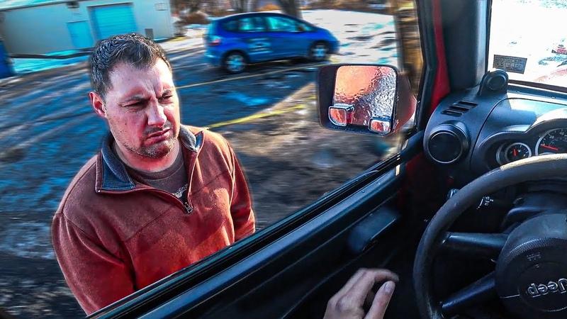 Как Нет Тормозов Клиент В Шоке Гололед Трасса 100 Аварий