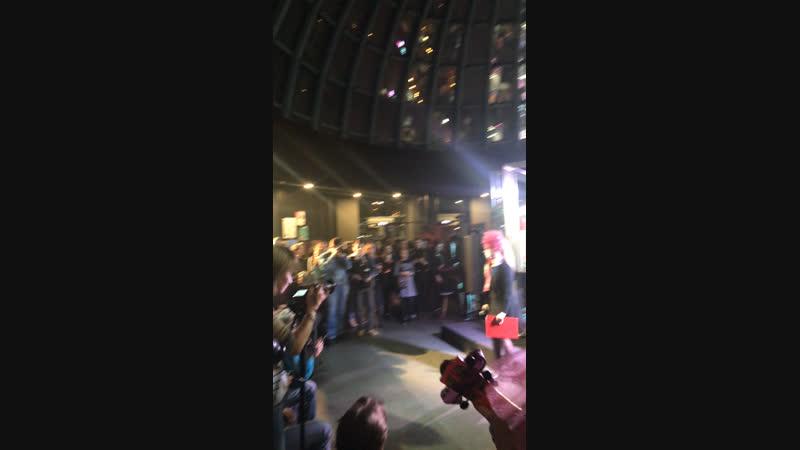 Открытие X международного молодёжного театрального фестиваля «Живые лица»