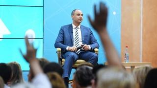 Пресс-конференция губернатора Оренбуржья Дениса Паслера