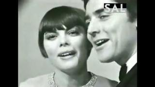Мирей Матье, Саша Дистель -Мужчина и женщина / Mireille Mathieu, Sacha Distel -Un homme et une femme
