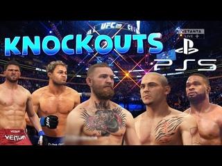 UFC нокауты PS5