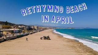 Rethymno Beach  / Crete / Greece