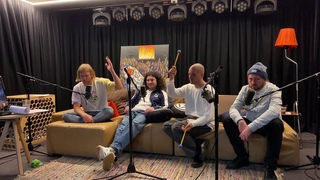 Иван Дорн, Юрий Бардаш, Александр Чемеров, Сурен Томасян слушают трек loukii - штошто