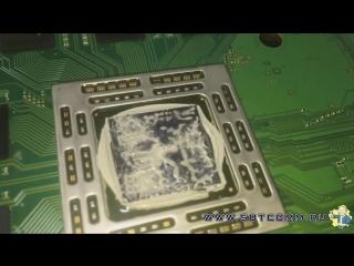 Чистка PS4 от пыли и замена термопасты от сервисного центра Sotcomm.