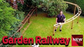 New Junction:  Building an 'O' gauge Garden Railway  Part Three