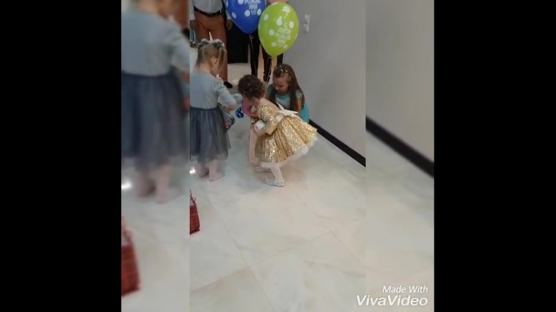 день рождения Миланы 3 годв