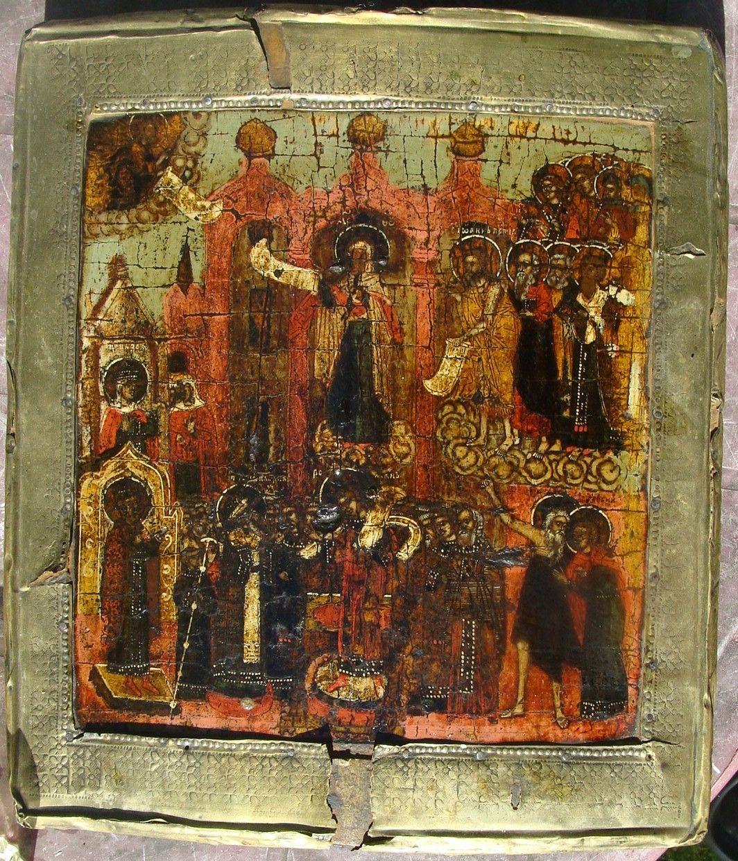 сочетании коллекция старинных икон фото такое маранг как