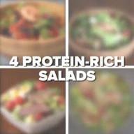 id_30869 4 варианта белковых салатов 🥗🥗🥗  Автор: Tasty  #gif@bon